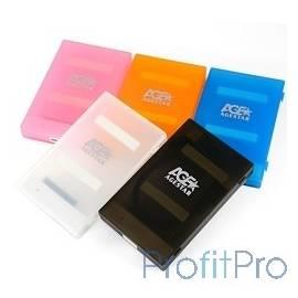 "AgeStar 3UBCP1-6G (BLACK) USB 3.0 Внешний корпус 2.5"" SATA HDD/SSD AgeStar 3UBCP1-6G (BLACK) USB 3.0, пластик, черный, безвинто"