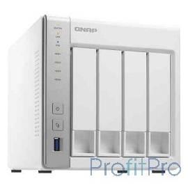 "QNAP TS-431P Сетевое хранилище 4xHDD Hot-Plug 2,5"" и 3,5"", Dualcore CPU AL-212 1.7GHz, 1GB DDR3, 2xGbE, 3xUSB 3.0"
