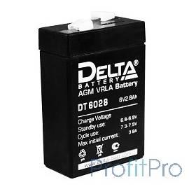 Delta DT 6028 (2,8 А\ч, 6В) свинцово- кислотный аккумулятор