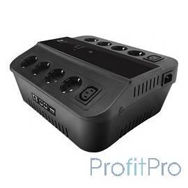 3Cott ИБП Cascade 3C-650-SPB 650VA/360W, линейно-интерактивный, управляемый, 3-х ступенчатый 0369152