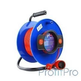 PowerCube Удлинитель на катушке (PC-B1-K-50) 10А/2,2 кВт, 50м, 1 розетка б/з