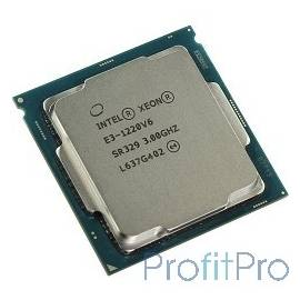 CPU Intel Xeon E3-1220v6 Kaby Lake OEM 3.0ГГц, 8Мб, Socket1151