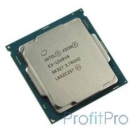 CPU Intel Xeon E3-1240v6 Kaby Lake OEM 3.7ГГц, 8Мб, Socket1151
