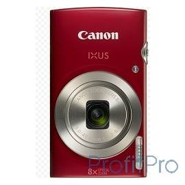 "Canon IXUS 185 красный 20Mpix Zoom8x 2.7"" 720p SD CCD 1x2.3 IS el 1minF 0.8fr/s 25fr/s/NB-11LH"