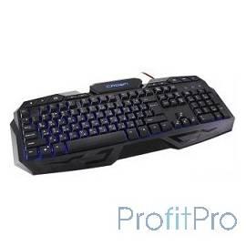 CROWN CMKG-100 [CM000001537] Клавиатура игровая, защита от воды, 114 клавиш ,10 мультимедийных клавиш, светодиодная подсветка,