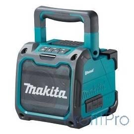 Makita DMR200 Аудиопроигрыватель ак,10.8-18В,Li-ion,2.8кг,порт USB, Bluetooth,вход AUX,б\проводной