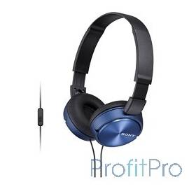 Sony MDR-ZX310AP Blue накладные