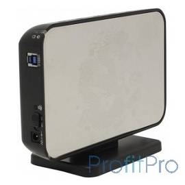 "AgeStar 3UB3A8-6G (SILVER) USB 3.0 Внешний корпус 3.5"" SATA AgeStar алюминий 654464 13822"