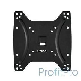 "Kromax OPTIMA-200 black Кронштейн для LED/LCD телевизоров 15""-42"", max 25 кг, настенный, 0 ст свободы, 23.5 мм, max VESA 200x20"