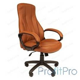 Офисное кресло РК 190 (Обивка: экокожа Терра, цвет - коричневый)