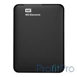 "WD Portable HDD 1Tb Elements Portable WDBUZG0010BBK-WESN USB3.0, 2.5"", black"
