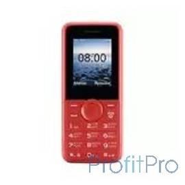 "Philips E106 Red Мобильный телефон красный моноблок 2Sim 1.77"" 128x160 GSM900/1800 GSM1900 MP3 FM microSD max16Gb"