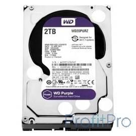 """2TB WD Purple (WD20PURZ) Serial ATA III, 5400- rpm, 64Mb, 3.5"""""""
