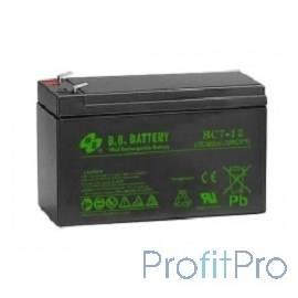 B.B. Battery Аккумулятор BC 7-12 (12V 7Ah)