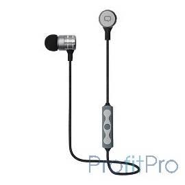 QUMO Freedom Pulse (BT-0010) темно серый, затычки, Bluetooth 4.2, 70 мА-ч, до 4х часов в режиме разговора[21777]
