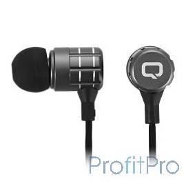 QUMO Freedom Pulse (BT-0016) черный, затычки, Bluetooth 4.2, 70 мА-ч, до 4х часов в режиме разговора[22196]