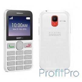 "Alcatel 2008G Black/Pure White 2.4""240x320/MP3/FM/BT/16Мб/0.3 MP/microSD/2 sim [2008G-3AALRU1]"