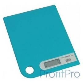 Весы кухонные FIRST FA-6401-1-BL, электр., 5 кг, 1 гр., тарокомпенсация