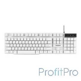 Гарнизон Клавиатура GK-200, USB, белый, механизированные клавиши