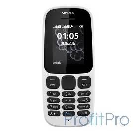 "NOKIA 105 DS TA-1034 WHITE (2017) [A00028316] 1.4"", 128x128, FM, 8Мб"