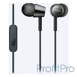 Sony MDREX155APB.E 1.2м черный проводные (в ушной раковине)