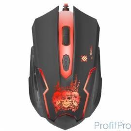 Defender Skull GM-180L [52180] Проводная игровая мышь, оптика,6кнопок,800-3200dpi