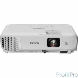 Epson EB-S05 [V11H838040] LCD, разрешение: 800x600, яркость: 3200 лм, контрастность: 15000:1, вес: 2.4 кг