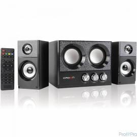 Акустическая система 2.1 CROWN CMBS-161 (МДФ, Bluetooth, 8W+4W*216W приёмник FM картридер интерфейс USB IR пульт)