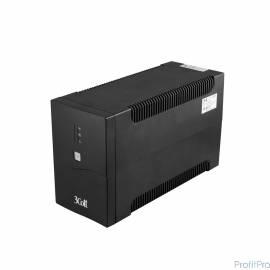 3Cott ИБП Office Line 3Cott-1500-OFC 1500VA/900W AVR,RJ11,RJ45 (8 IEC) 0502204