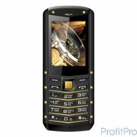TEXET 520R-TM мобильный телефон цвет черный-желтый