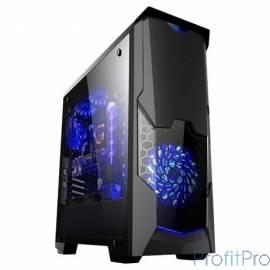 "3Cott PALADIN IV , ATX, без БП, игровой, окно, 1х USB3.0 + 2х USB2.0, 1х 12см LED вент-р, ДхШхВ: 440*200*460мм"""