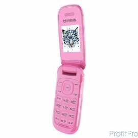 "IRBIS SF07 Rose(Pink) (раскладушка) 1.77""(128x160), cam 0,08MPx, 2xSimCard, Bluetooth, microUSB, MicroSD"