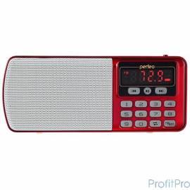 Perfeo радиоприемник цифровой ЕГЕРЬ FM+ 70-108МГц/ MP3/ питание USB или BL5C/ красный (i120-RED)