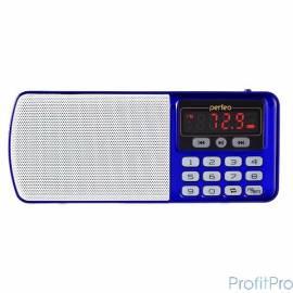 Perfeo радиоприемник цифровой ЕГЕРЬ FM+ 70-108МГц/ MP3/ питание USB или BL5C/ цвет синий (i120-BL)