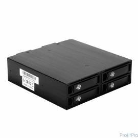 "EXEGATE EX264647RUS Корзина для HDD Exegate HS425-01 (универсальная, на 4*2,5"" SATA/SAS HDD, занимает 1*5,25"" отсек)"