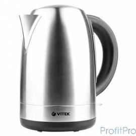 Чайник VITEK VT-7021(SR) Мощность 1850-2200 Вт. Максимальный объем 1,7 л. Корпус из нержавеющей стали.