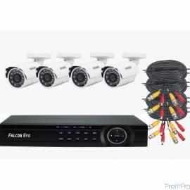 Falcon Eye FE-104MHD KIT ДАЧА FE-104MHD KIT ДАЧА Комплект видеонаблюдения. Гибридный регистратор с поддержкой AHD/TVI/CVI/IP/Ан