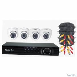 Falcon Eye FE-104MHD KIT ДОМ Комплект видеонаблюдения. Гибридный регистратор с поддержкой AHD/TVI/CVI/IP/Аналог. Алгоритм сжати