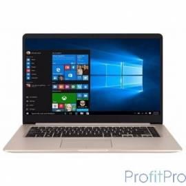 """Asus VivoBook S510UN-BQ019T XMAS [90NB0GS1-M00420] Gold Metal 15.6"""" FHD i5-7200U/8Gb/1Tb+128Gb SSD/MX150/W10"""