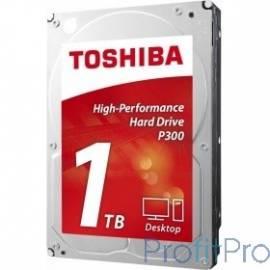 """1TB Toshiba P300 (HDWD110EZSTA) SATA 6.0Gb/s, 7200 rpm, 64Mb buffer, 3.5"""""""