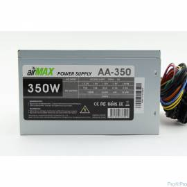 AirMax AA-350W Блок питания 350W ATX (24+4+6пин, 120mm (SCP)\(OVP)\(OCP)\(UVP)\ATX 12V v.2.3)