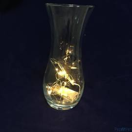 Espada Светодиодная(LED) Лента-гирлянда декоративная, теплый белый, 0,03W (E-EWW10LED1m) (43199)