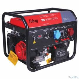 FUBAG BS 8500 XD ES [838255] Электростанция бензиновая с электростартером и одинаковой выходной мощностью