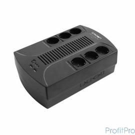 CROWN ИБП CMUS-285 EURO SMART Line Interactive, 800VA\480W, розетки 6*EURO [CM000001922]