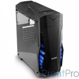 3Cott PALADIN II, ATX, без БП, игровой, окно, 1х USB3.0 + 2х USB2.0, 1х 12см LED вент-р, ДхШхВ: 440*200*460мм