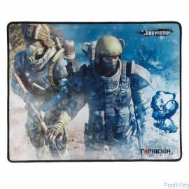 Коврик для мыши Гарнизон GMP-200, игровой, дизайн- игра Survarium, ткань/резина, размеры 437 x 350 x
