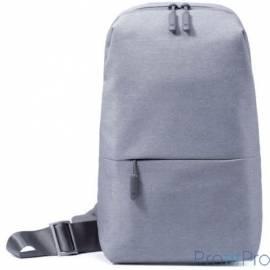 Xiaomi Рюкзак Mi City Sling Bag (светло-серый) DSXB01RM [ZGB4070GL]