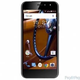 "Fly FS526 Power Plus 2 Black 5"" 1280x720/MediaTek MT6737/8Gb/1Gb/3G/4G/8MP+2MP/Android 7.0"