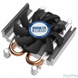 PowerCool PCCOOLER S85A Низкопрофильный, универсальный (высота - 27мм) AMD