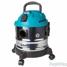 Bort BSS-1015 Пылесос строительный [98297041] 1250 Вт, вместимость 15 л, 58 л/сек, 5 кг, набор аксессуаров 10 шт